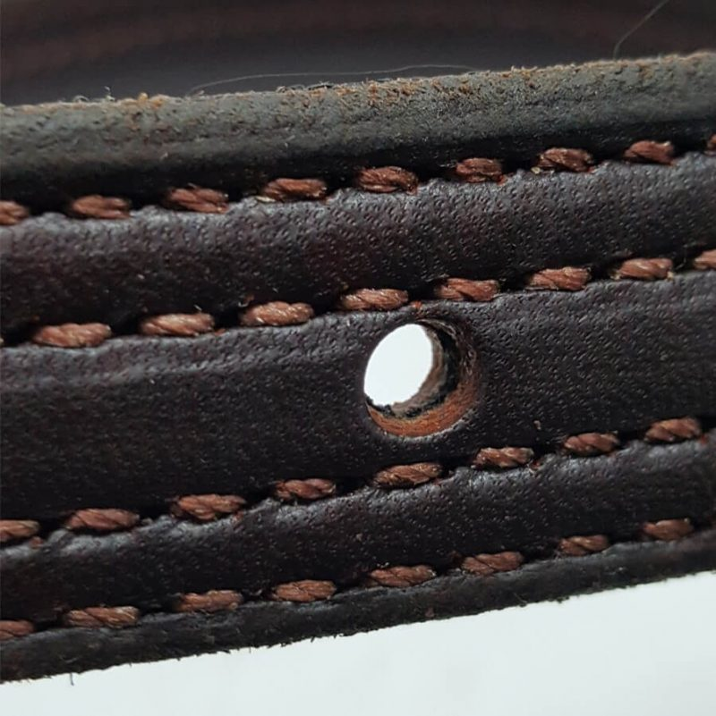 triple ply premium english saddle leathers double stitched hill saddlery