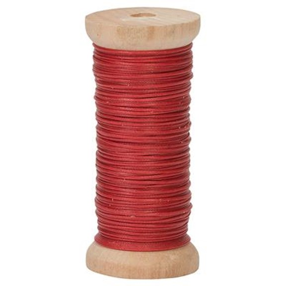 Premium Ritza Tiger Waxed White Thread .8 mm 50 Meter Spool By Hill Saddlery