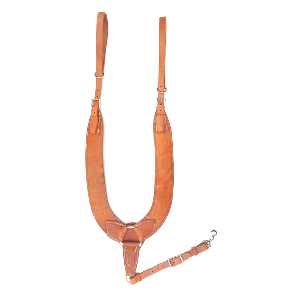 """MEDIUM OIL 5//8/"""" Wide Western Replacement TUG STRAP For Breast Collar Horse Tack"""