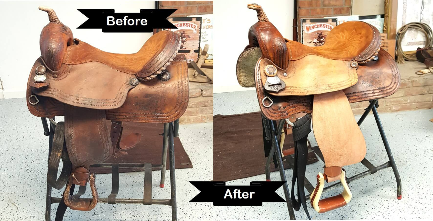 Interesting Story Of Saddle Restore Before And After By Hill